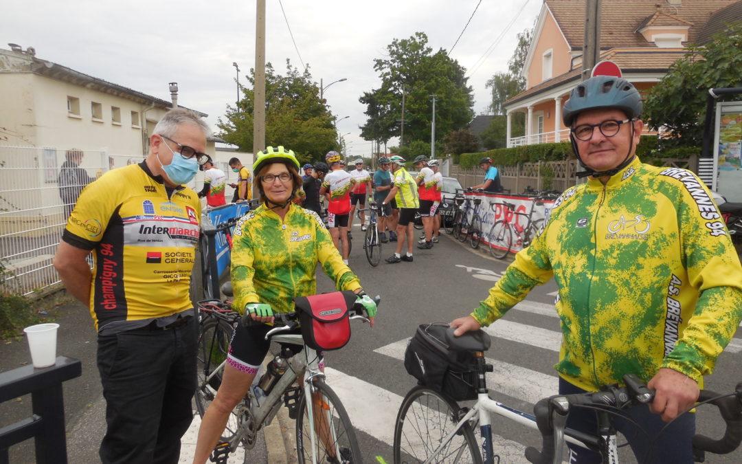 CR Balade des cyclos Campinois 2021